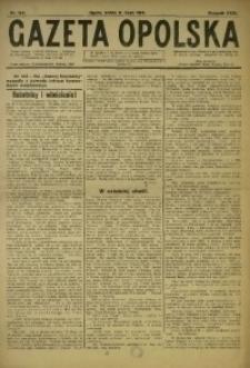 Gazeta Opolska, 1919, R. 29 [właśc. 30], nr 155