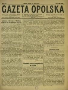 Gazeta Opolska, 1919, R. 29 [właśc. 30], nr 167