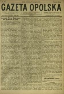 Gazeta Opolska, 1919, R. 29 [właśc. 30], nr 189
