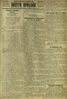 Gazeta Opolska, 1919, R. 29 [właśc. 30], nr 204
