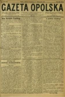 Gazeta Opolska, 1919, R. 29 [właśc. 30], nr 255/256