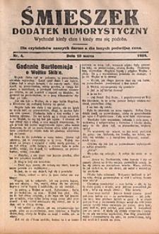 Śmieszek, 1929, nr4