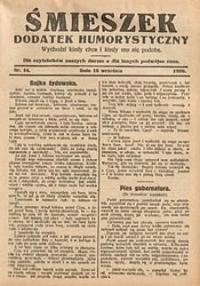 Śmieszek, 1929, nr14