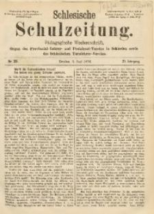 Schlesische Schulzeitung, 1892, Jg. 21, Nr. 23