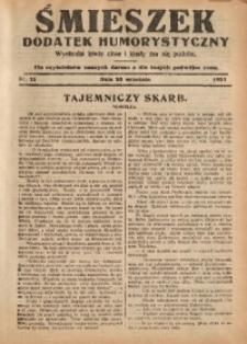 Śmieszek, 1931, nr13
