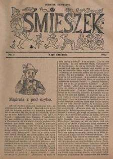 Śmieszek, 1912, nr1