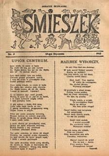 Śmieszek, 1912, nr3