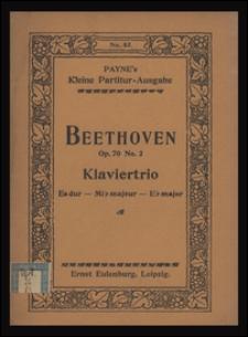 Trio No. 5 Es-dur : für Pianoforte, Violine u. Violoncell : Op. 70, No. 2