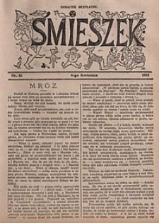Śmieszek, 1912, nr12