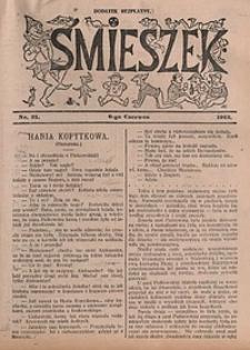 Śmieszek, 1912, nr21