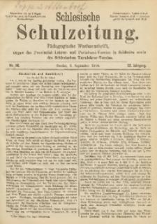 Schlesische Schulzeitung, 1893, Jg. 22, Nr. 36