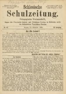 Schlesische Schulzeitung, 1893, Jg. 22, Nr. 52