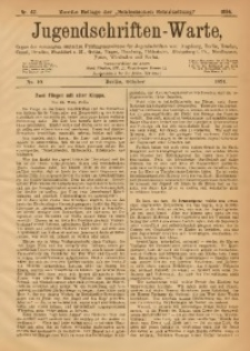 Jugendschriften-Warte, 1894, [Jg. 2], No. 10