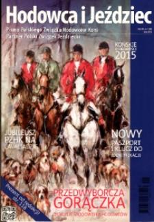 Hodowca i Jeździec, 2016, R. 14, nr 1 (48)
