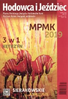 Hodowca i Jeździec, 2019, R. 17, nr 4 (63)
