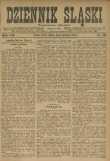 Dziennik Śląski, 1904, R. 7, nr 79