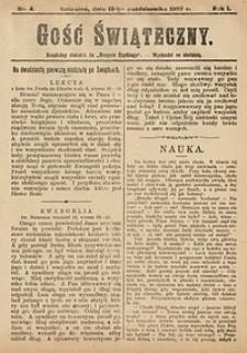 Gość Świąteczny, 1907, nr4