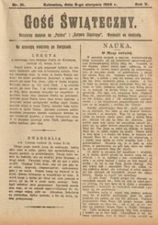 Gość Świąteczny, 1909, R. 5, nr31