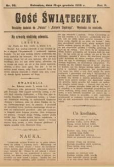Gość Świąteczny, 1909, R. 5, nr50