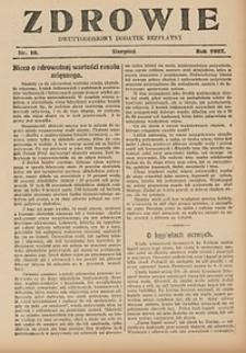 Zdrowie, 1927, nr11