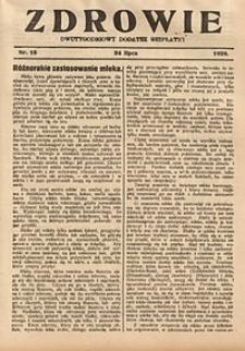 Zdrowie, 1929, nr15