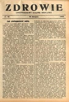 Zdrowie, 1930, nr15