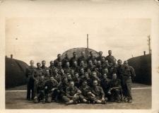 III Kurs Szkoły Podchorążych. Irvine 4.12-4.07.1945