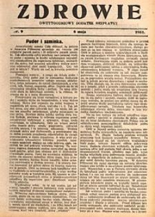 Zdrowie, 1931, nr9