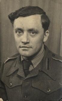 Portret żołnierza Polskich Sił Zbrojnych na Zachodzie. Kirkcudbright 08.02.1946