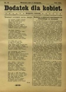 Dodatek dla kobiet, 1913, nr 13
