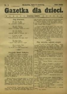 Gazetka dla dzieci, 1913, nr 9