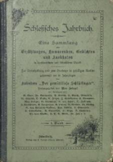 Schlesisches Jahrbuch, [1890], Bd. 1, [H.] 1