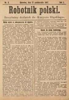 Robotnik Polski, 1907, nr3