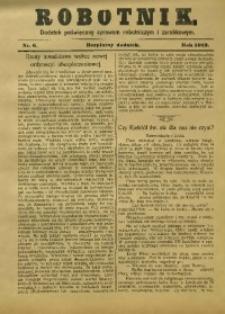 Robotnik, 1913, nr 6
