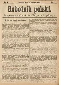 Robotnik Polski, 1907, nr4