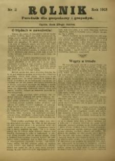 Rolnik, 1913, nr 11