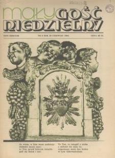 Mały Gość Niedzielny, 1984, R. 30, nr 6