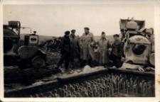 Szarża Polsko-Angielska. Budowa schronu. Szkocja 19.03.1946