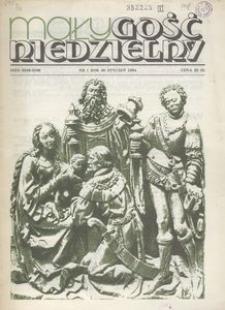 Mały Gość Niedzielny, 1984, R. 30, nr 1