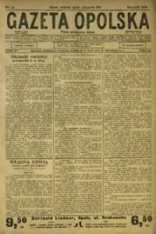 Gazeta Opolska, 1913, R. 24, nr 13
