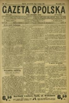 Gazeta Opolska, 1913, R. 24, nr 20
