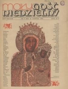 Mały Gość Niedzielny, 1984, R. 30, nr 8