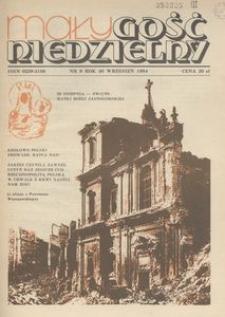 Mały Gość Niedzielny, 1984, R. 30, nr 9