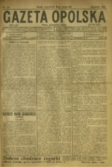 Gazeta Opolska, 1913, R. 24, nr 70