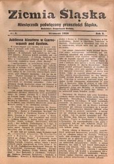 Ziemia Śląska, 1928, R. 2, nr5