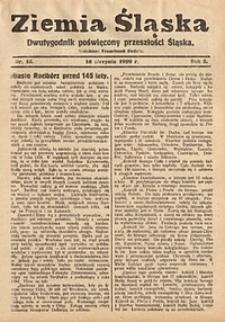 Ziemia Śląska, 1929, R. 3, nr15
