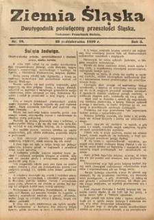 Ziemia Śląska, 1929, R. 3, nr19