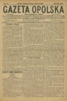 Gazeta Opolska, 1914, R. 25, nr 17
