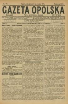Gazeta Opolska, 1914, R. 25, nr 71