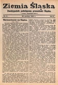 Ziemia Śląska, 1931, R. 5, nr8